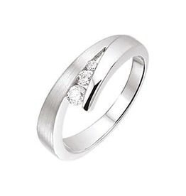 Zilveren ring - Zirkonia - Maat 20