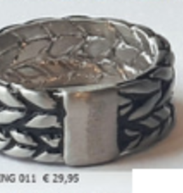 Thomss Thomss - Stalen ring - Maat 20 1/2