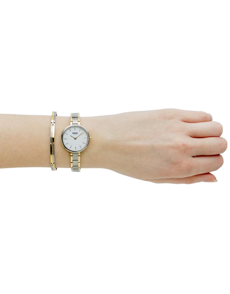Boccia Boccia - Armband - Titamium bicolor - 20 cm