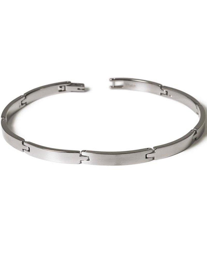 Boccia Boccia - Armband - Titanium - 20 cm