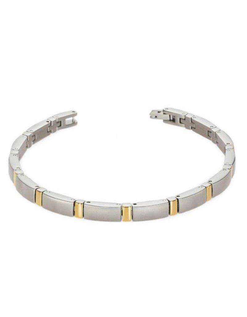 Boccia Boccia - Armband - Titanium bicolor