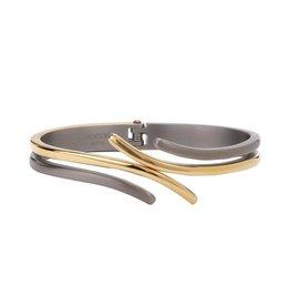 Boccia Boccia - Armband - Titanium bicolor - Spang