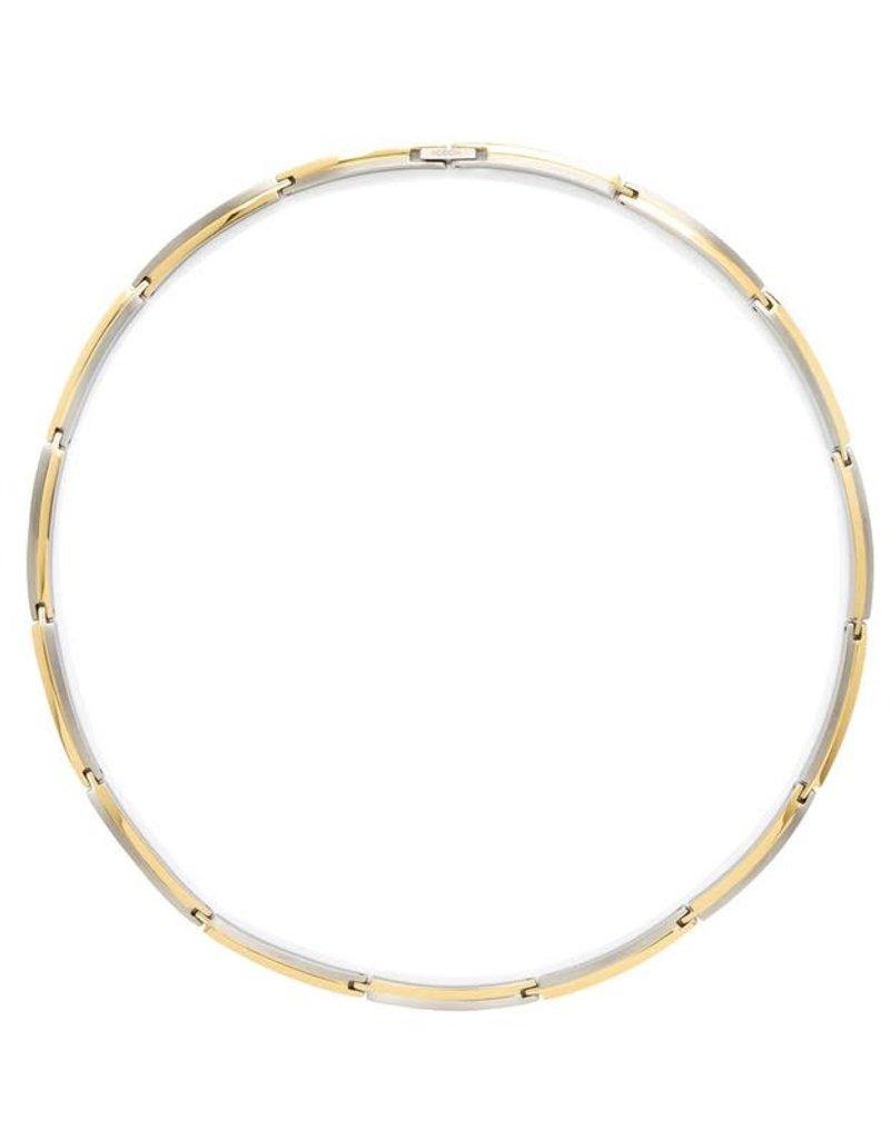 Boccia Boccia - Collier - Titanium bicolor