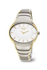 Boccia Boccia - Horloge - Dames - Titanium bicolor - Saffier - 36 mm - 5 ATM