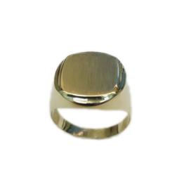 Occasions by Marleen Occasions by Marleen - Gouden monogram ring - Maat 19