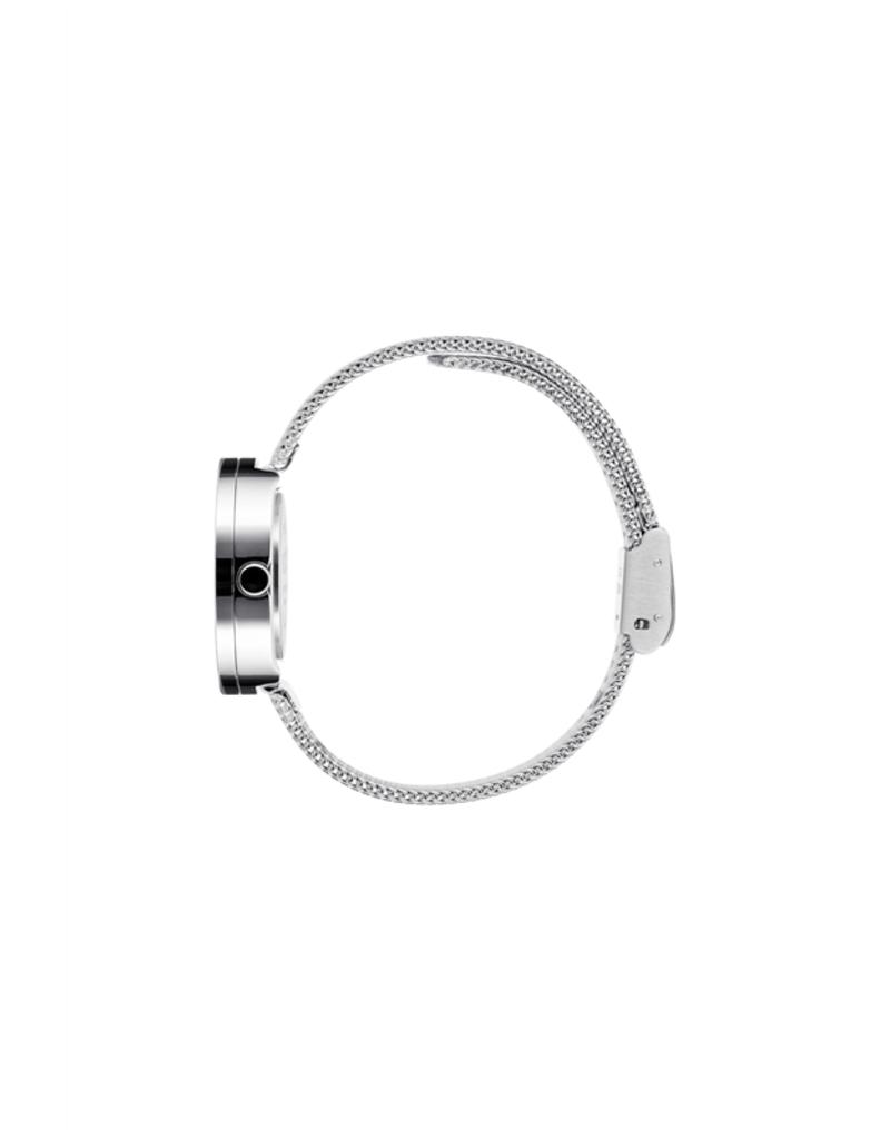 Picto Picto - Horloge - Blauw - Staal - 30 mm - Milanees