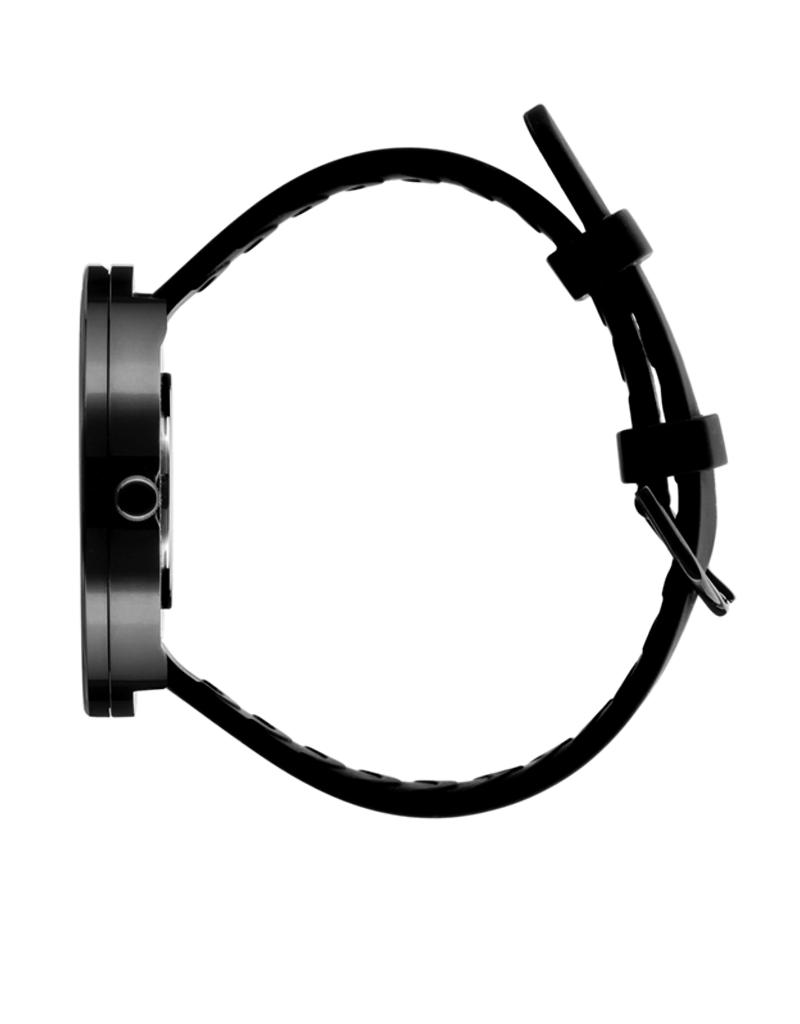 Picto Picto - Horloge - Zwart- Staal - 40 mm -Siliconen