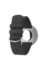Picto Picto - Horloge - Geel-Grijs - Staal - 40 mm -Siliconen