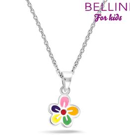 Bellini Bellini for kids - hanger incl. collier - 34 + 2 + 2 - Bloem multicollor
