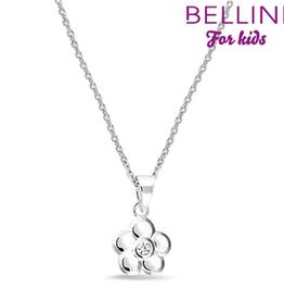 Bellini Bellini for kids - hanger incl. collier - 34 + 2 + 2 -  Bloem zirkonia