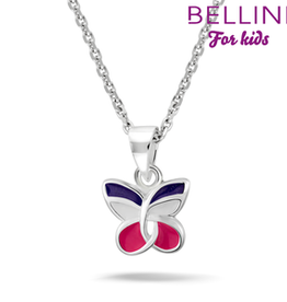 Bellini Bellini for kids - hanger incl. collier - 34 + 2 + 2 - Vlinder multicolor