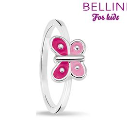 Bellini Bellini for kids - kinderring - Maat 44 - Vlinder roze