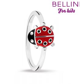 Bellini Bellini for kids - kinderring - Maat 44 - Lieveheersbeestje emaille
