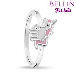 Bellini Bellini for kids - kinderring - Maat 44 - Unicorn emaille