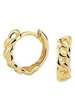 Gouden creolen - 14 karaats