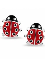 Bellini Bellini for kids - Oorknoppen - Lieveheersbeestje emaille