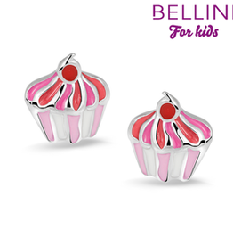 Bellini Bellini for kids - Oorknoppen - Cupcake emaille