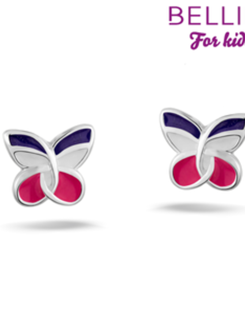 Bellini Bellini for kids - Oorknoppen - Vlinder multicolor