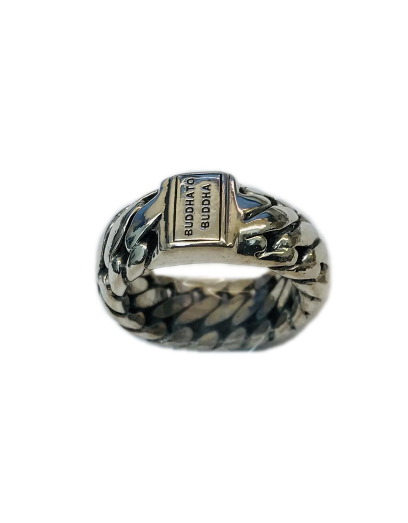 Occasions by Marleen Occasions by Marleen - Zilveren ring - Buddha to Buddha - Maat 17.75