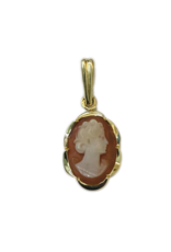 Occasions by Marleen Occasions by Marleen - Gouden hanger - Camee