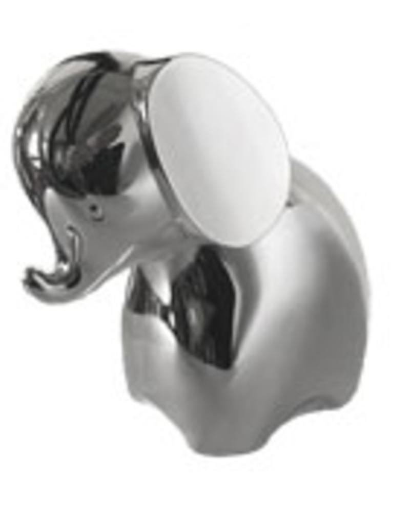 van Steyn Geboortecadeau - Verzilverde spaarpot - Olifant