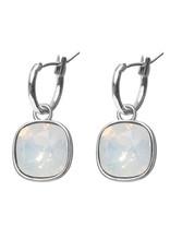 Biba Biba - Oorbellen - White Opal