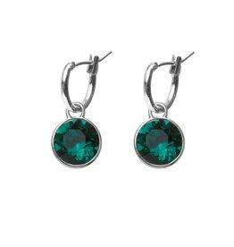 Biba Biba - Oorbellen - Emerald