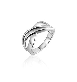 Gisser Zilveren ring - Gerhodineerd - Maat 58