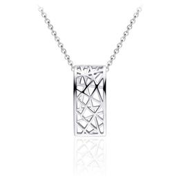 Gisser Zilveren collier - Anker - Gerhodineerd - 42+5 cm