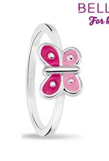 Bellini Bellini for kids - kinderring - Vlinder roze