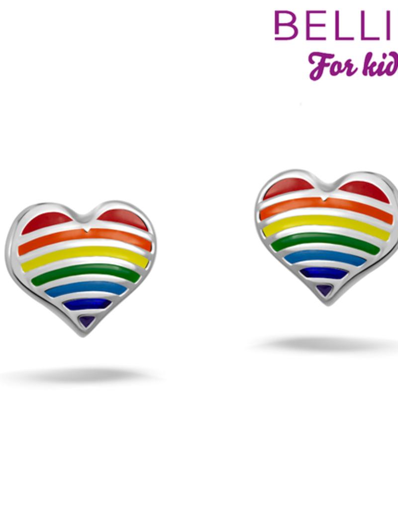 Bellini Bellini for kids - Oorknoppen - Hart multicolor