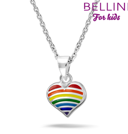 Bellini Bellini for kids - hanger incl. collier - 34 + 2 + 2 - Hart multicolor