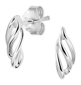 Zilveren oorknoppen - Gerhodineerd