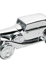 van Steyn Geboortecadeau - Verzilverde spaarpot - Rolls Royce