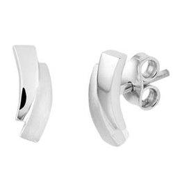 Zilverenoorknoppen - Gerhodineerd - Mat/Glanzend