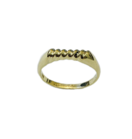 Occasions by Marleen Occasions by Marleen - 14 karaats - Gouden ring - Maat 16.75