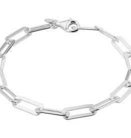 Zilveren armband - Anker - 5.4 mm - 19 cm