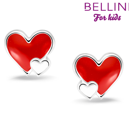 Bellini Bellini for kids - Oorknoppen - Hartje rood