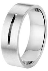 Amorio Relatiering - Staal - A506 - Zonder steen - 7.0 mm