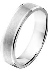Amorio Relatiering - Zilver - A103 - Zonder steen - 5.0 mm