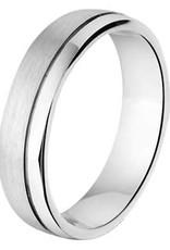 Amorio Relatiering - Zilver - A201 - Zonder steen - 5.0 mm