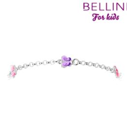 Bellini Bellini for kids - Zilveren armband - Vlinders