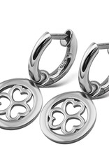 Jwls4u Jwls4u 3 Hearts Silver