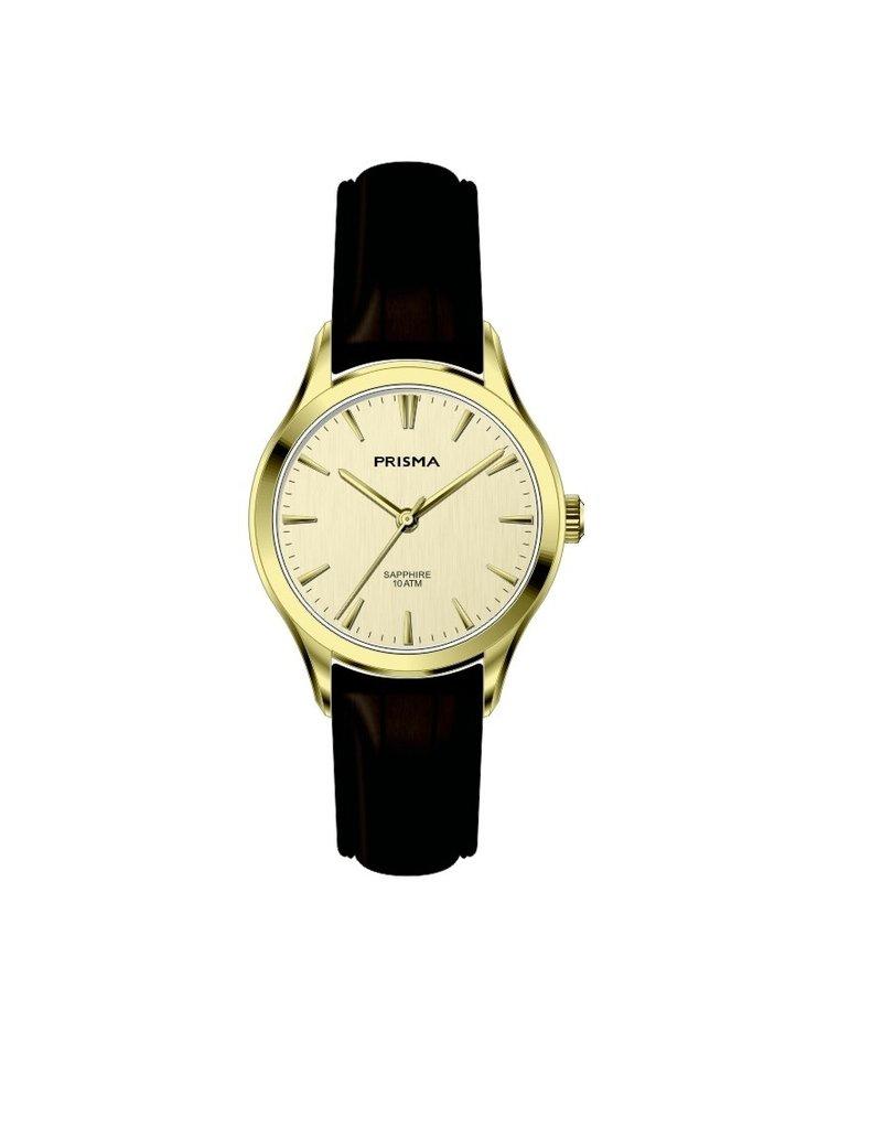 Prisma Prisma - Horloge - Balm Gold champagne dial