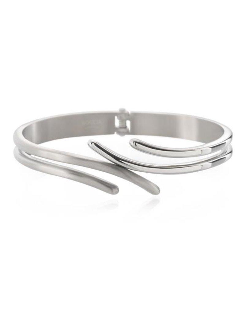 Boccia Boccia - Armband - Titanium - Spang