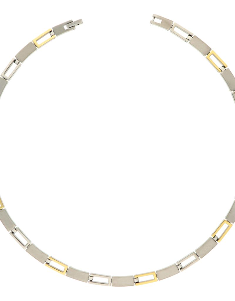 Boccia Boccia - Collier - Titanium bicolor - 45 cm