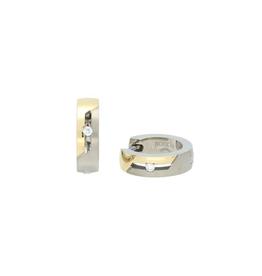 Boccia Boccia - Creolen - Titanium bicolor -Diamant