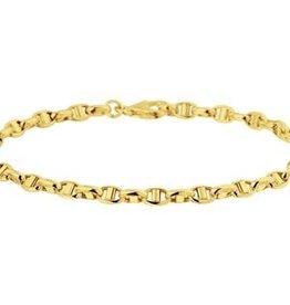 Gouden armband - 14 karaats - 3,5 mm - 18,5 cm