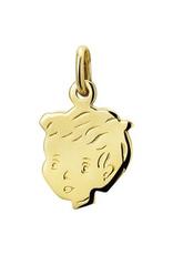 Gouden kinderkopje - 14 karaats - Jongen