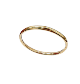 Occasions by Marleen Occasions by Marleen - Gouden bangle - 14 karaats - 6.6 mm